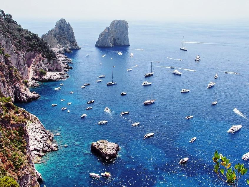 Scoprire Capri con barca