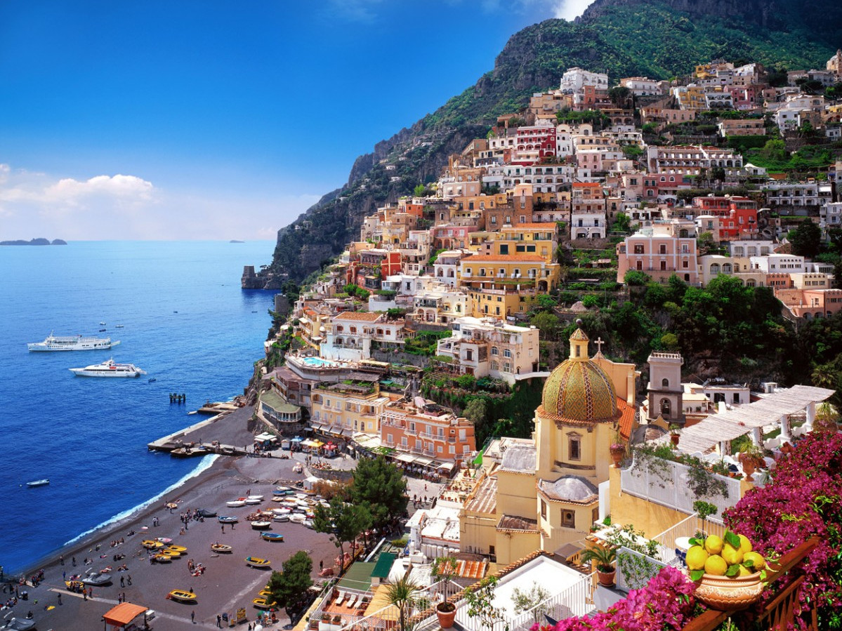 Shopping & Dinner in Positano.