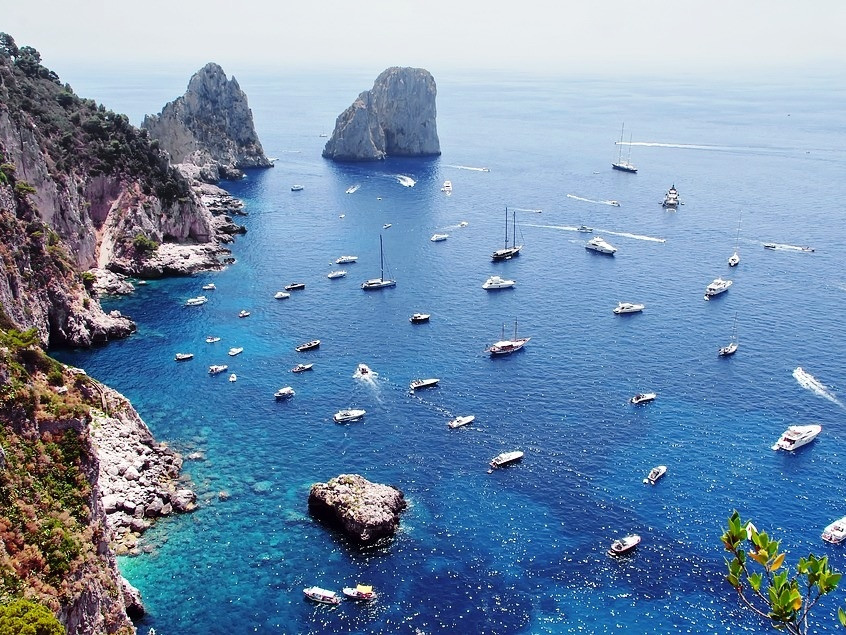 Capri by Boat from Naples