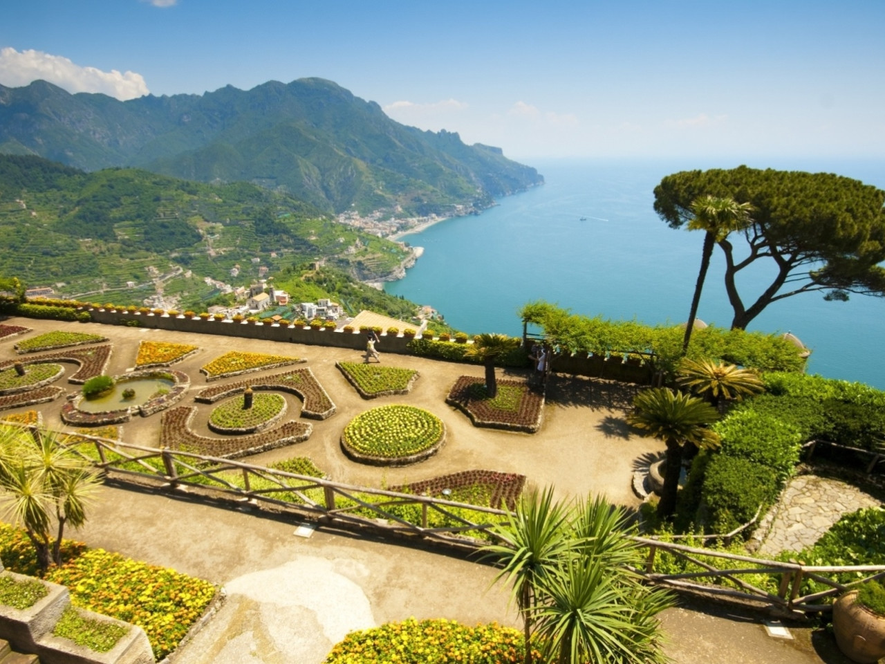 Positano, Amalfi & Ravello - from Naples