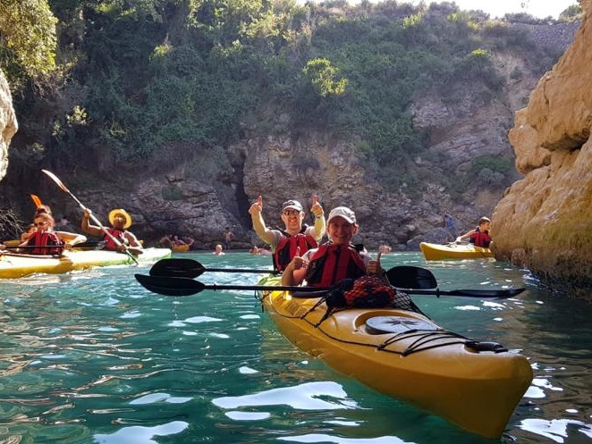 Kayak Sorrento - Private 2 Hours Tour