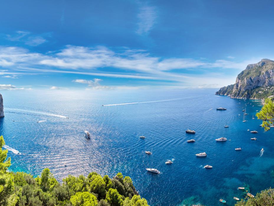 Sorrento, Capri e la Grotta Azzurra - Tour in barca