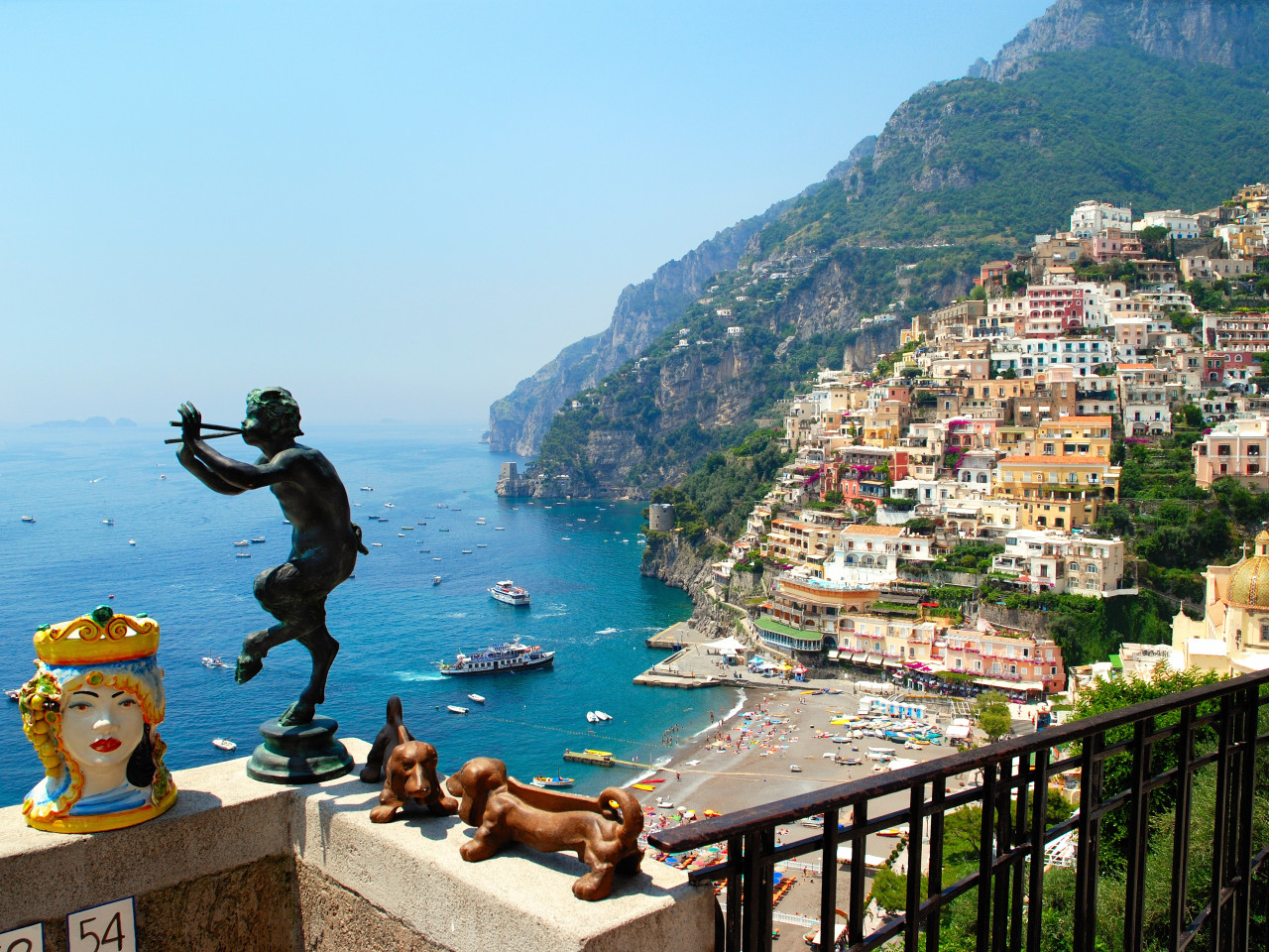 Guided Tour to Positano, Amalfi & Ravello - Sea and land experience